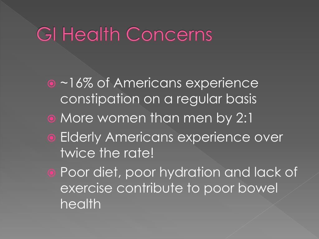 GI Health Concerns