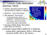 21 st century code generation demmel yelick