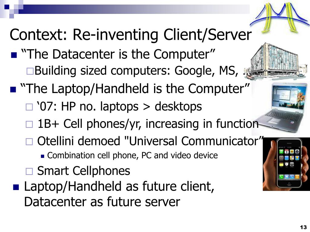 """The Datacenter is the Computer"""