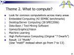 theme 2 what to compute