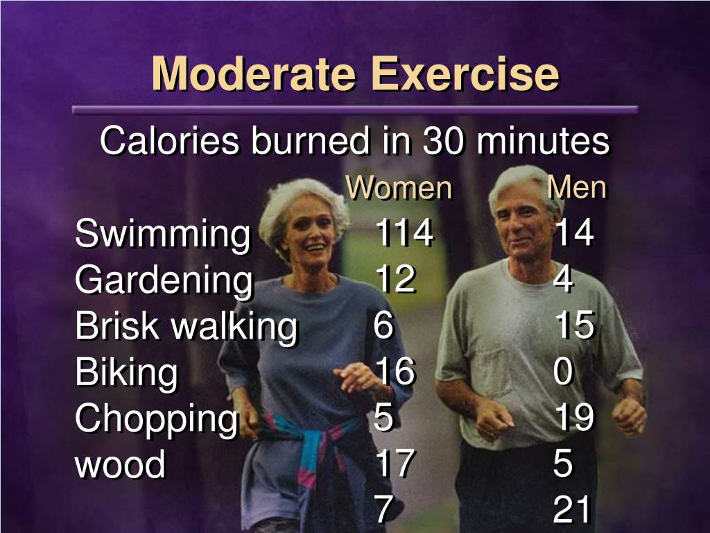 Moderate Exercise