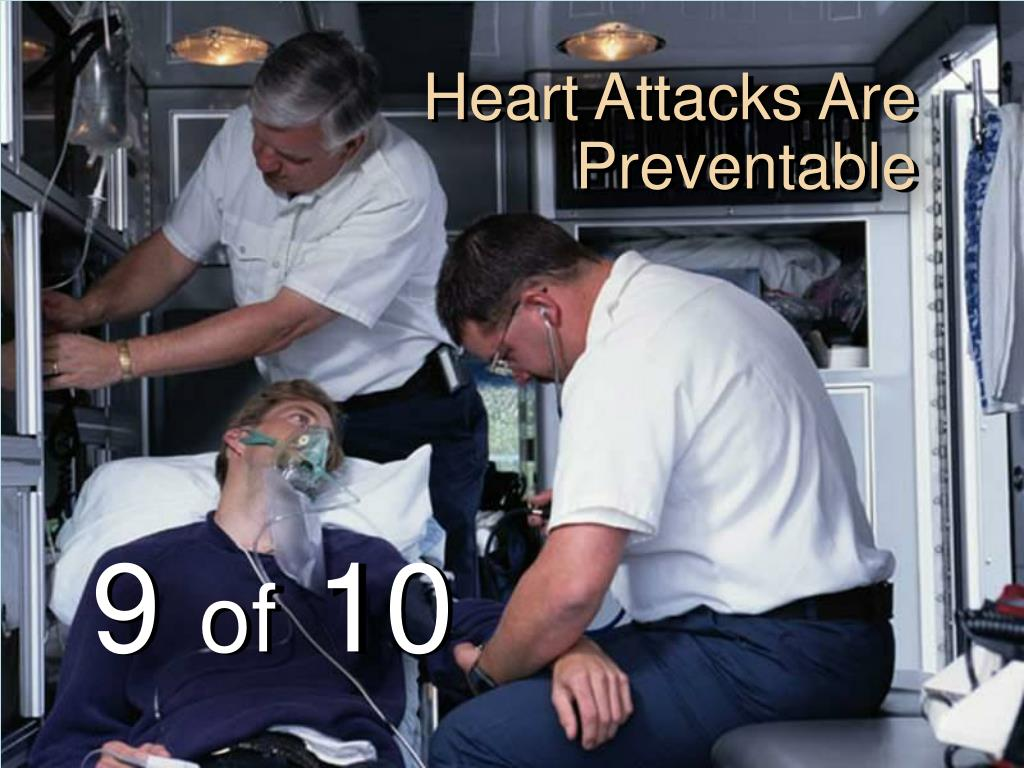 Heart Attacks Are Preventable