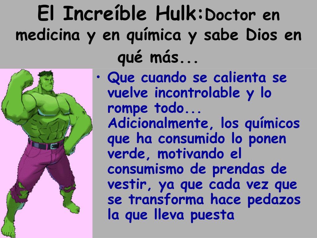 El Increíble Hulk: