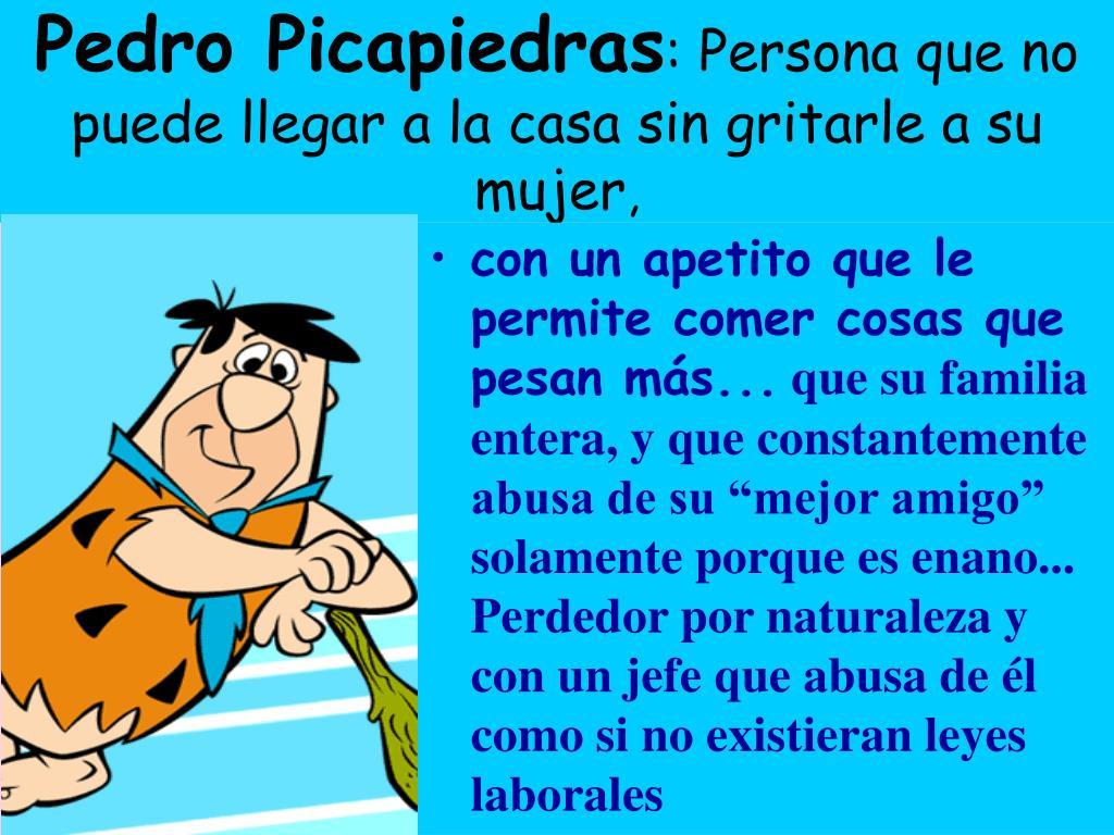 Pedro Picapiedras