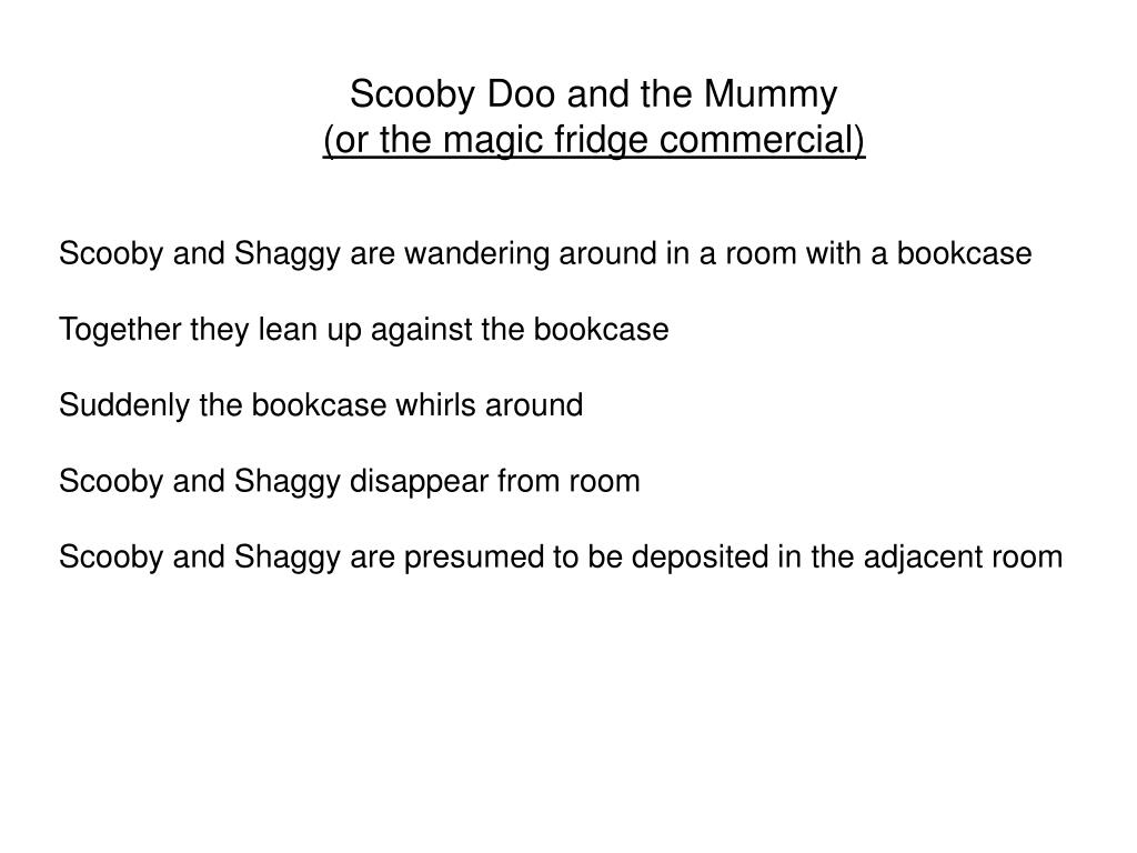 Scooby Doo and the Mummy