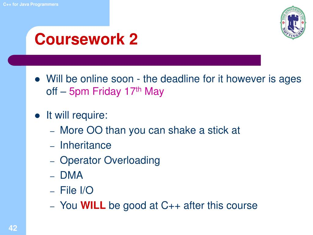 Coursework 2