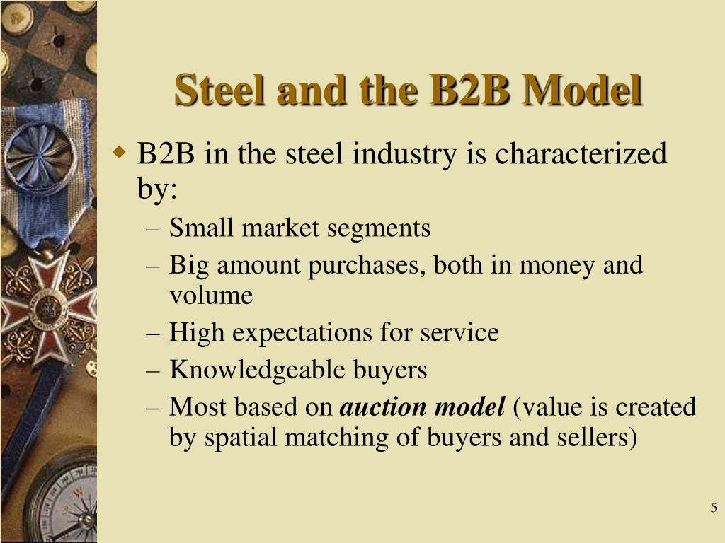 Steel and the B2B Model