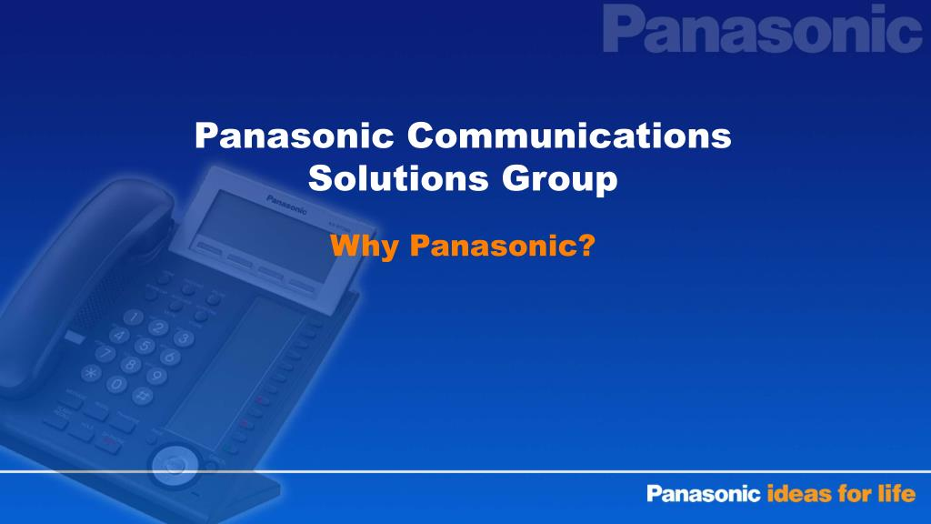 Panasonic Communications Solutions Group