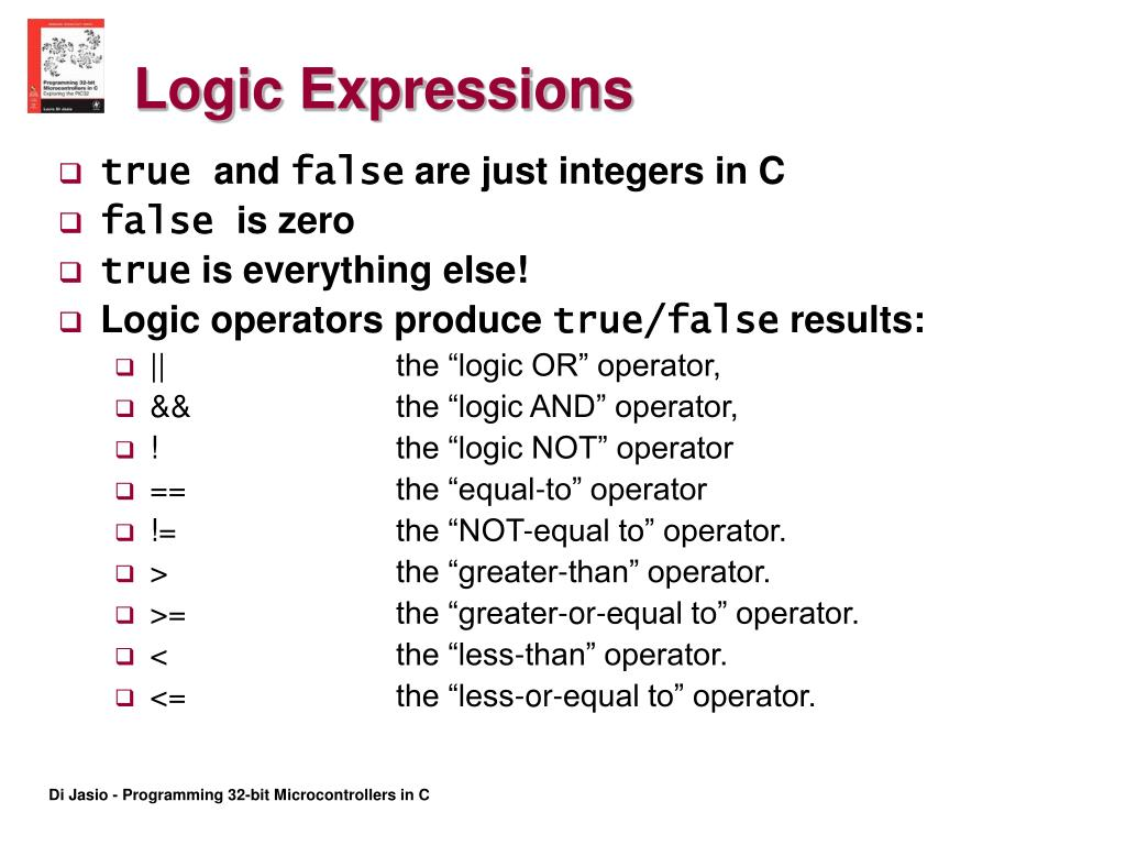 Logic Expressions