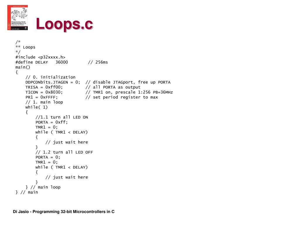 Loops.c