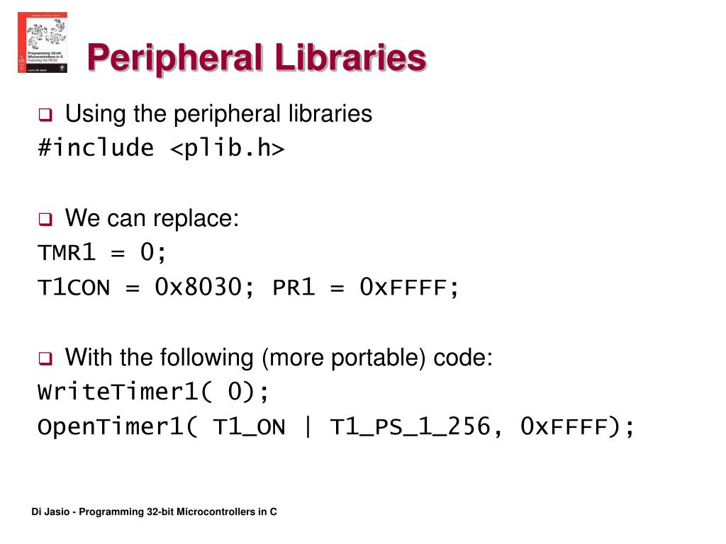 Peripheral Libraries