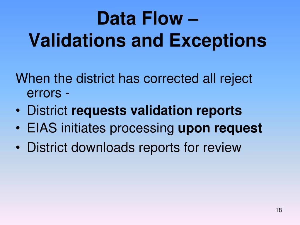 Data Flow –