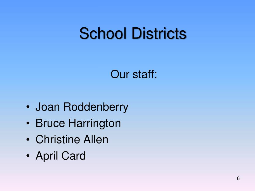 Our staff: