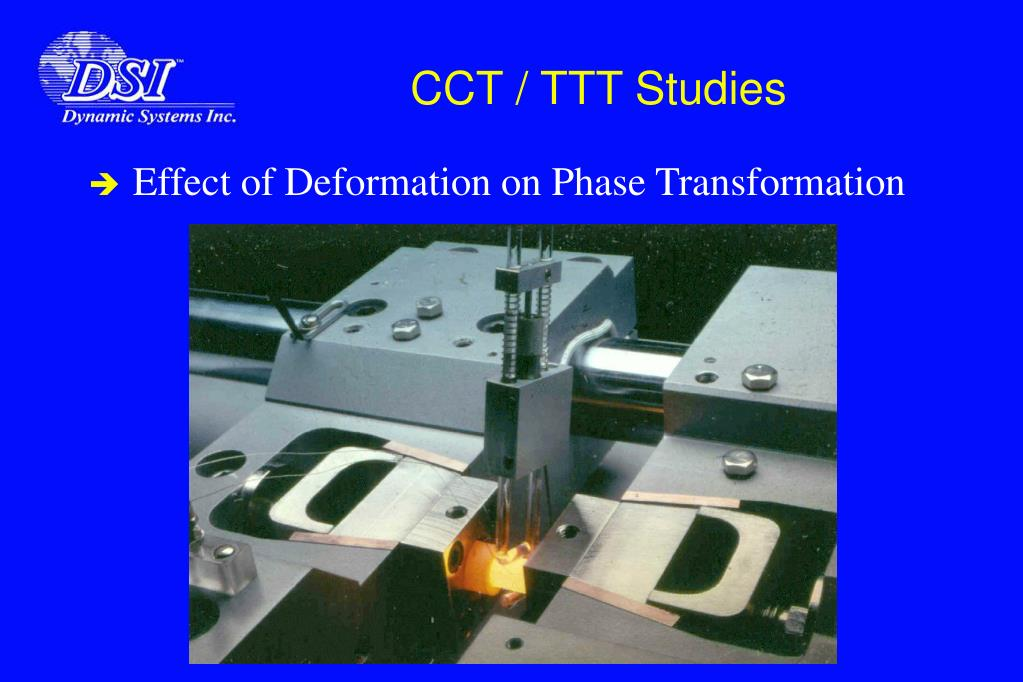 CCT / TTT Studies