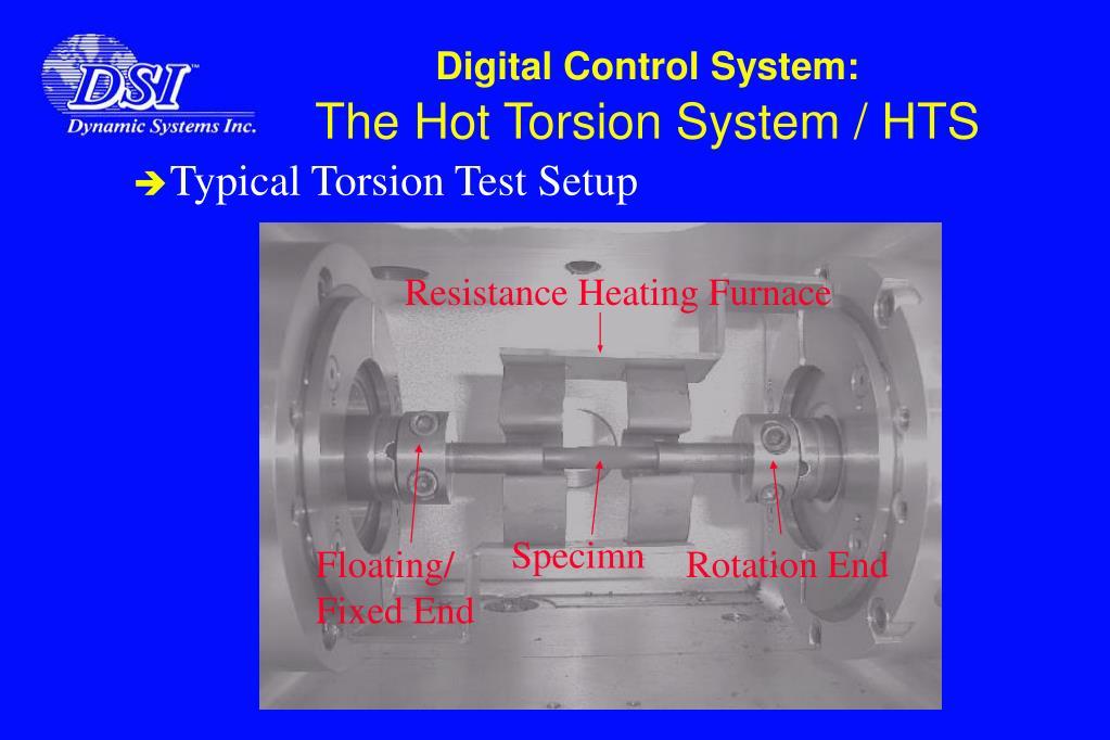 Typical Torsion Test Setup