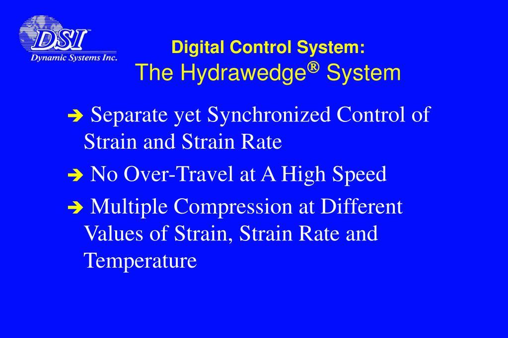 Digital Control System: