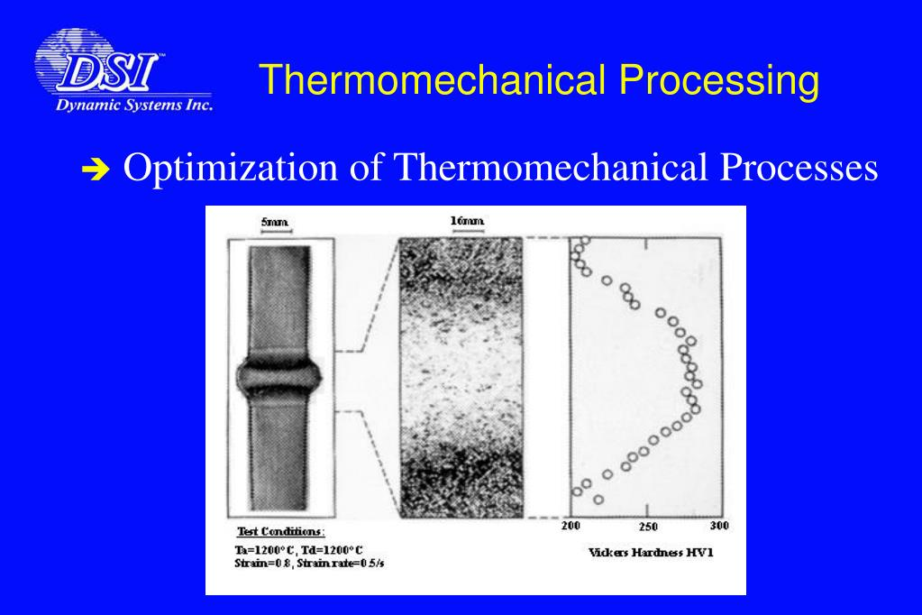 Thermomechanical Processing
