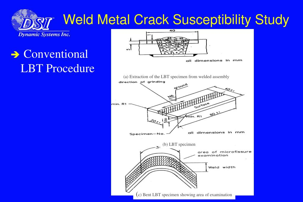 (a) Extraction of the LBT specimen from welded assembly