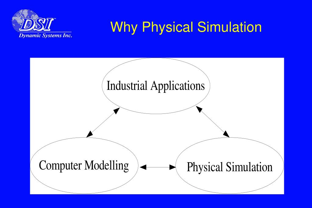 Why Physical Simulation