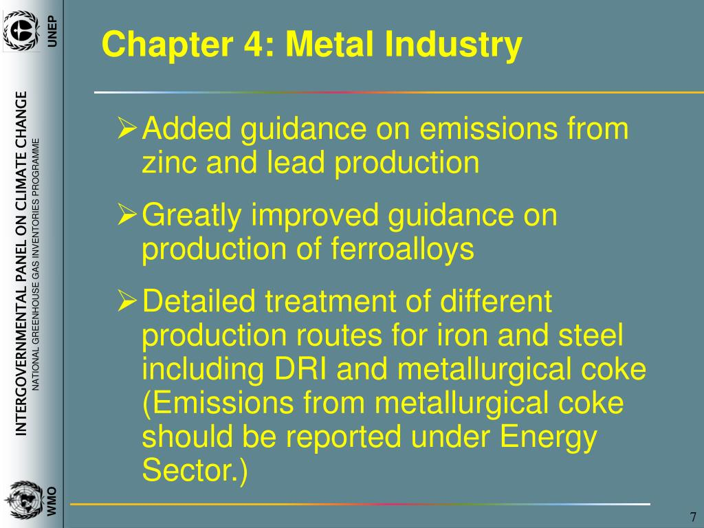 Chapter 4: Metal Industry