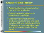 chapter 4 metal industry