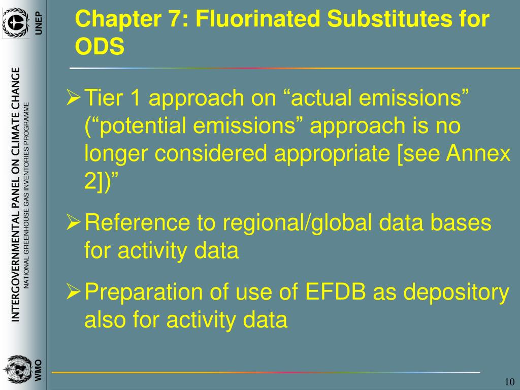 Chapter 7: Fluorinated Substitutes for ODS