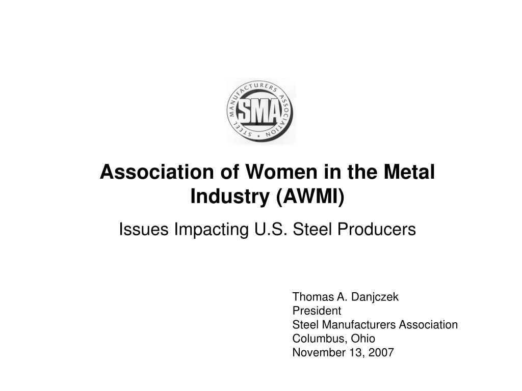 Association of Women in the Metal Industry (AWMI)