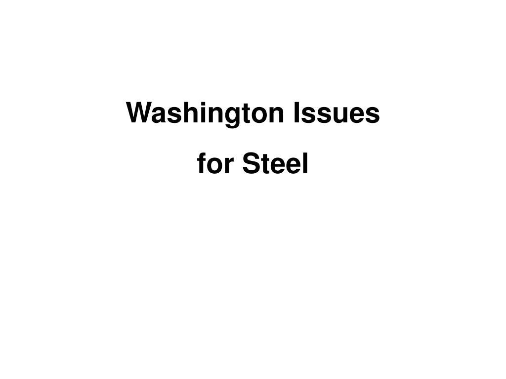 Washington Issues