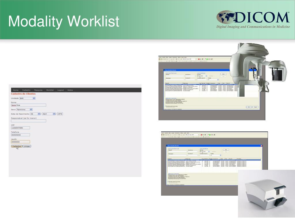 Modality Worklist