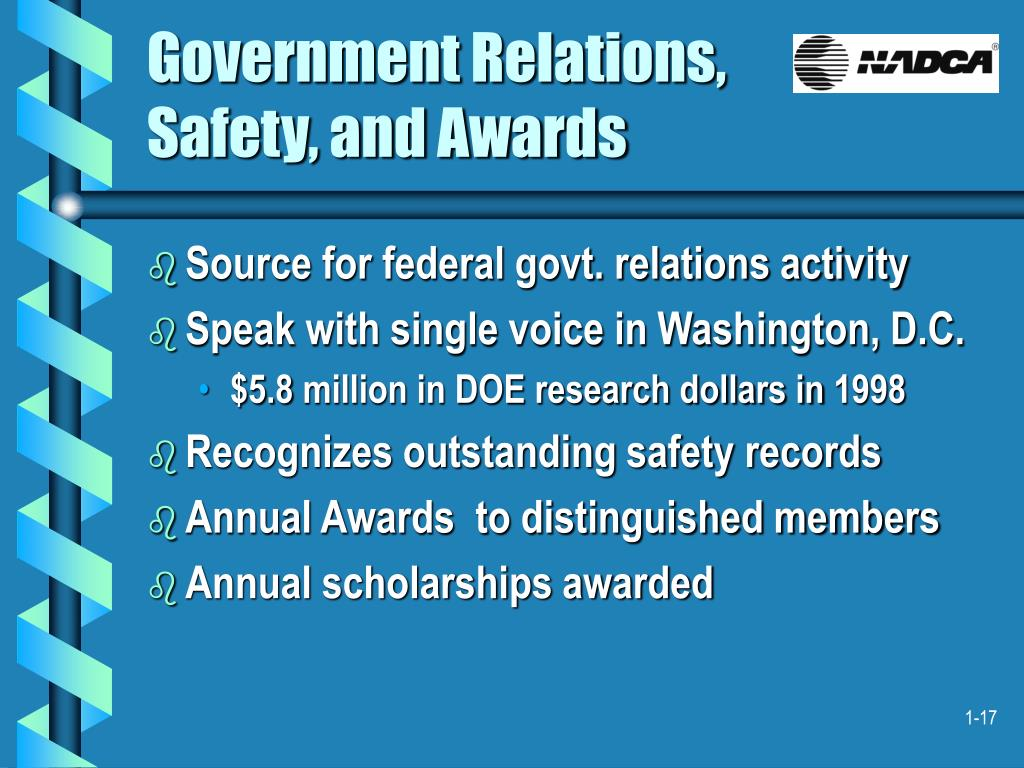 Government Relations,