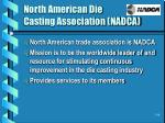 north american die casting association nadca