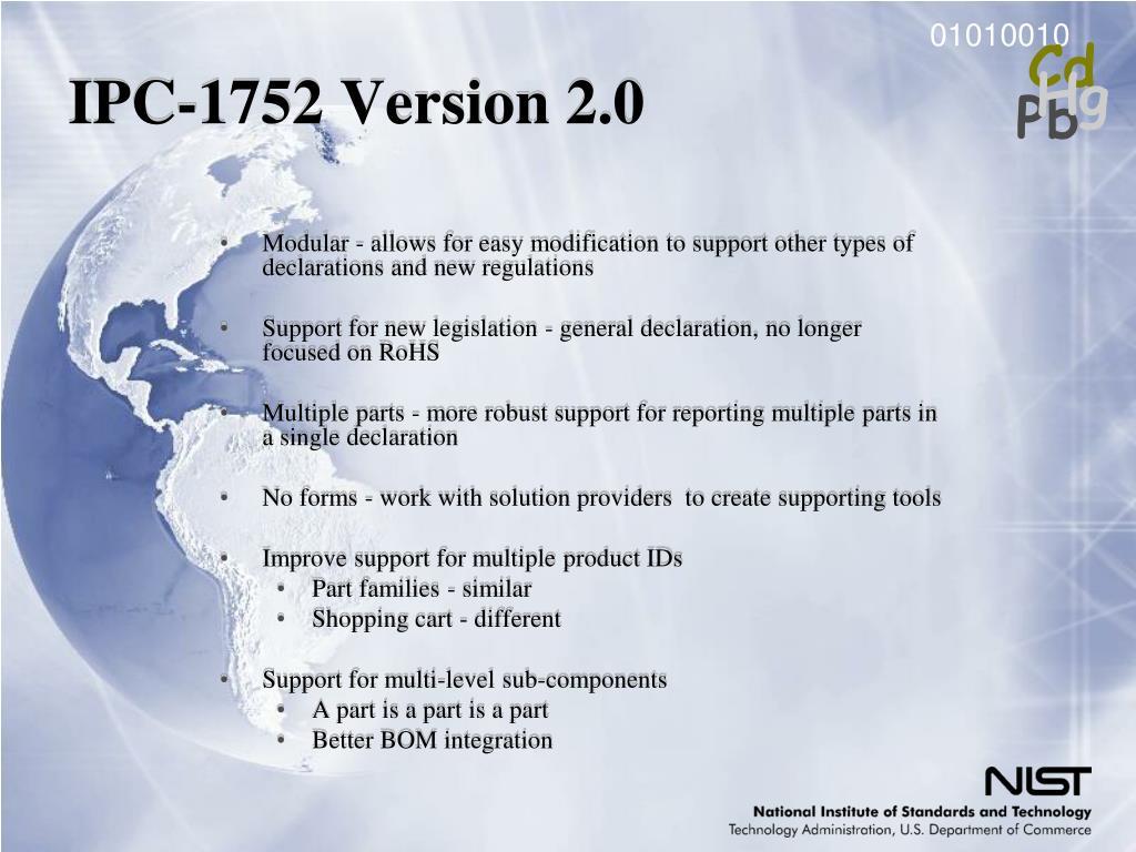 IPC-1752 Version 2.0