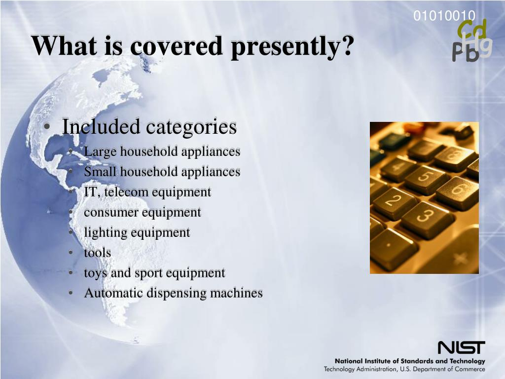 What is covered presently?