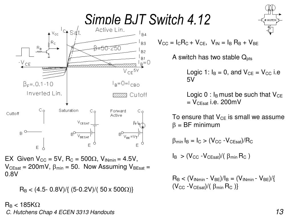 Simple BJT Switch 4.12