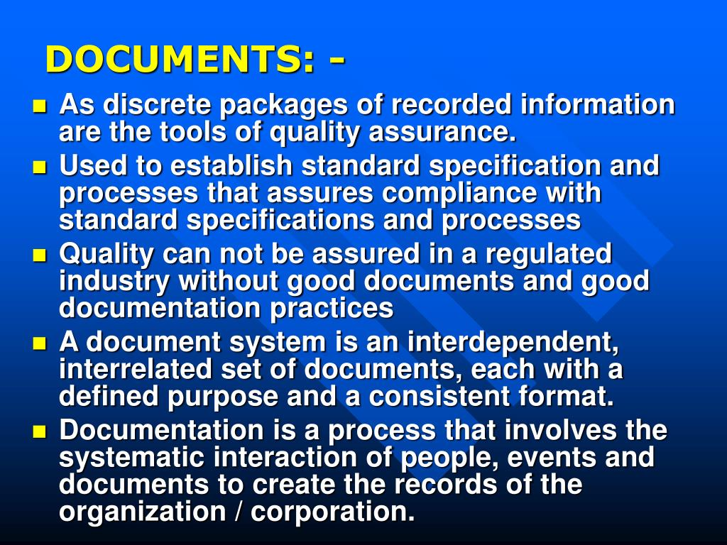 DOCUMENTS: -