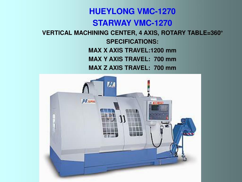 HUEYLONG VMC-1270