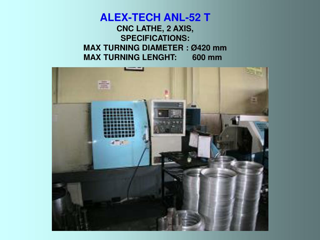 ALEX-TECH ANL-52 T