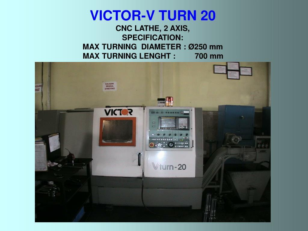 VICTOR-V TURN 20