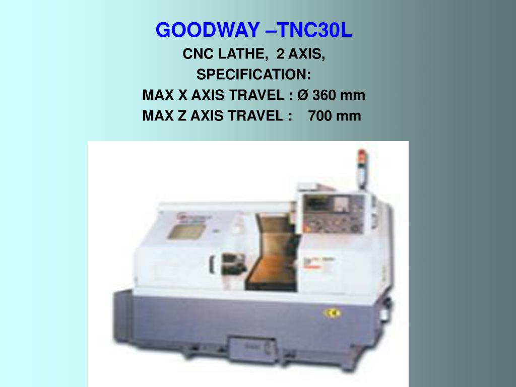 GOODWAY –TNC30L