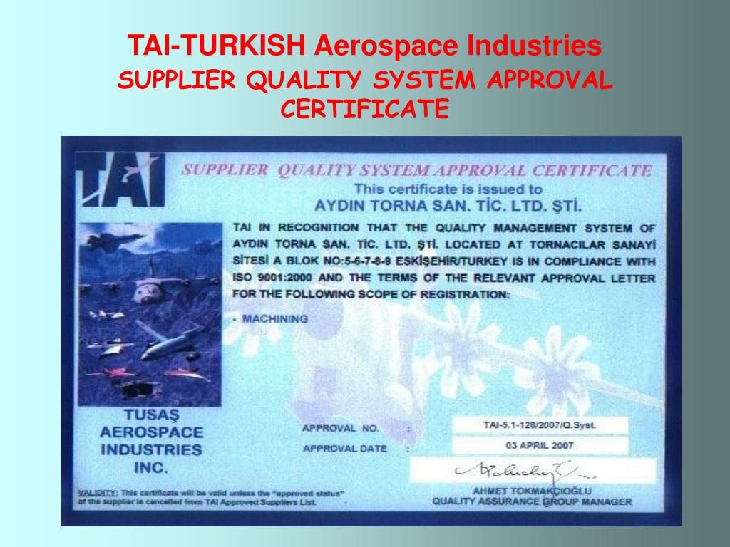 TAI-TURKISH Aerospace Industries