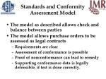 standards and conformity assessment model19