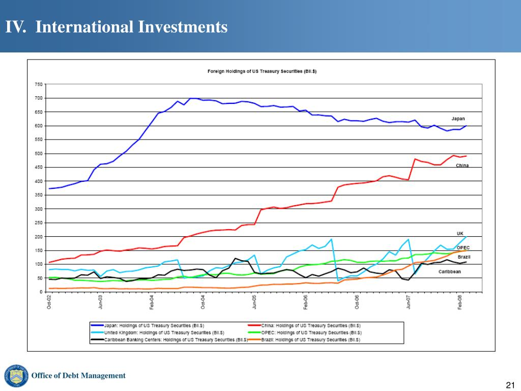 IV.  International Investments