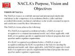 nacla s purpose vision and objectives21