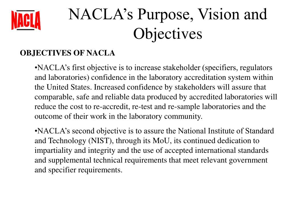 NACLA's Purpose, Vision and Objectives
