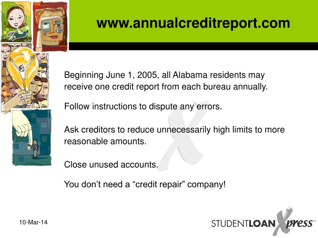 www.annualcreditreport.com