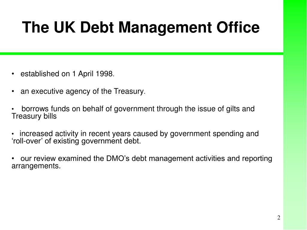 The UK Debt Management Office