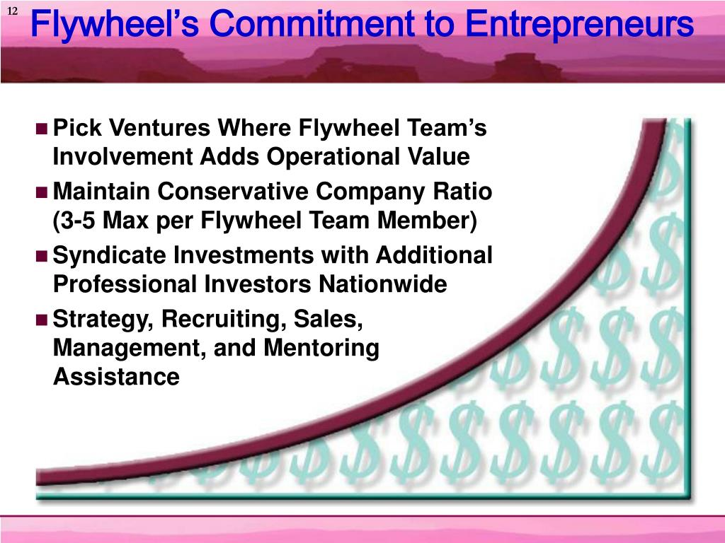 Flywheel's Commitment to Entrepreneurs