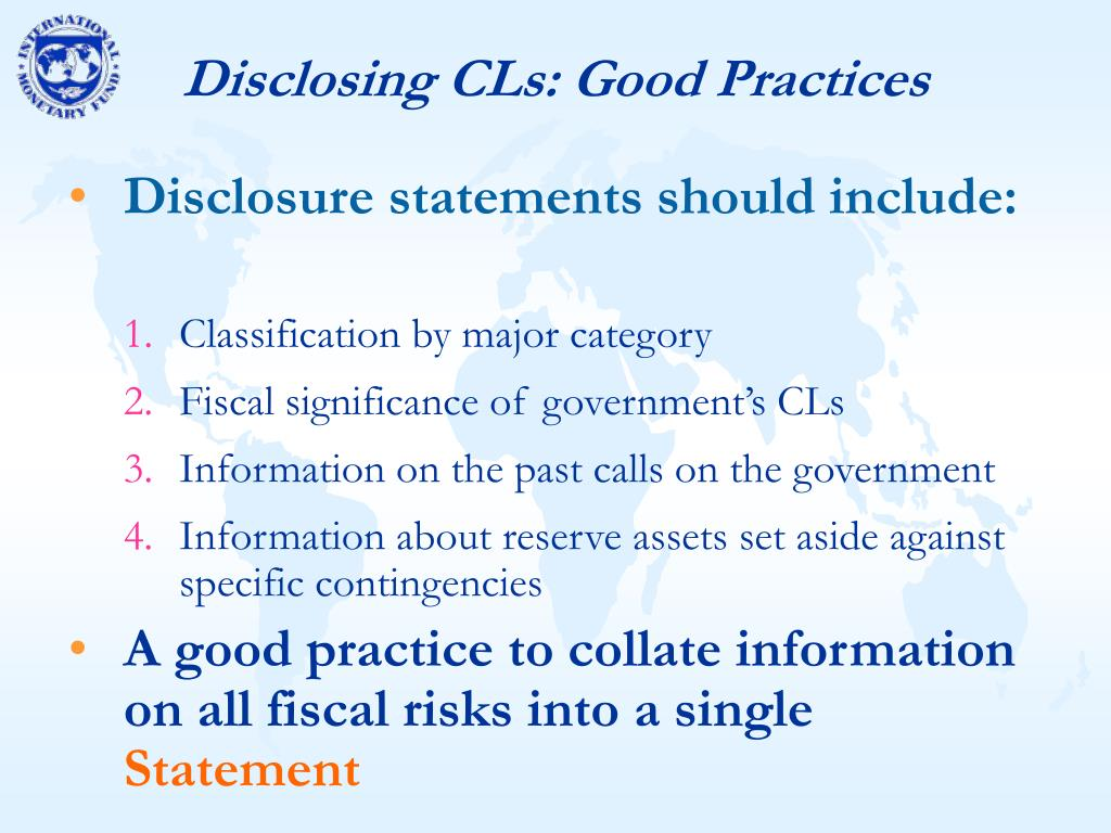 Disclosing CLs: Good Practices