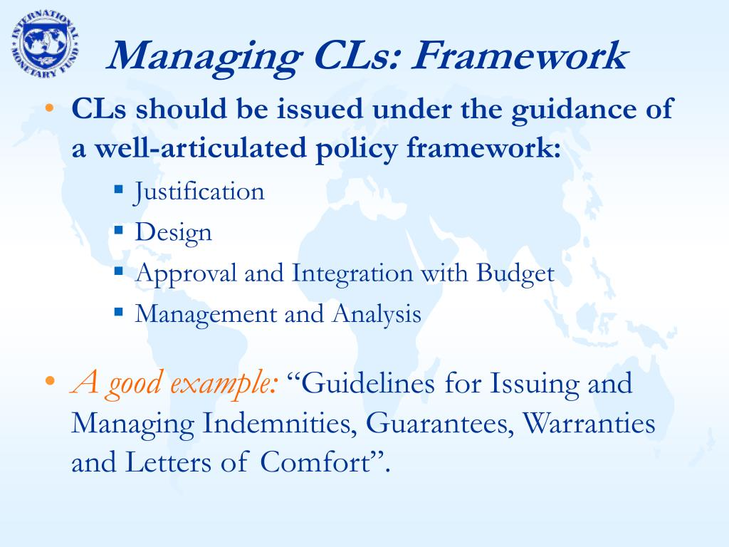 Managing CLs: Framework