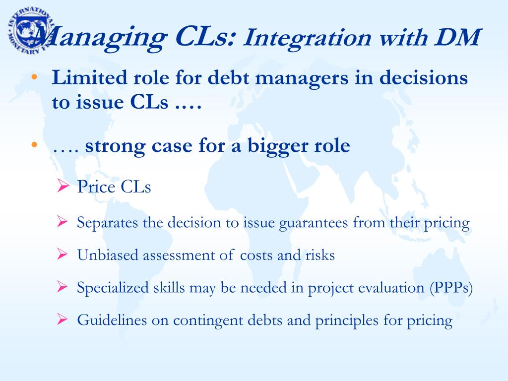 Managing CLs: